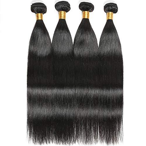 8inch brasilianischer Haar-Körper Wave 4 Bundles 100% unverarbeitete brasilianische Human Straight Hair Weave Weft Natural Color brasilianischen Remy Human Hair Extensions Weaving -