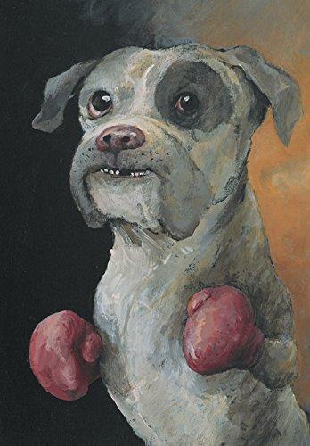 Postkarte A6 • 24759 ''Boxer'' von Inkognito • Künstler: Rudi Hurzlmeier
