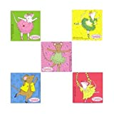 Smilemakers SMI254 sticker, Angelina ballerina (confezione da 100)