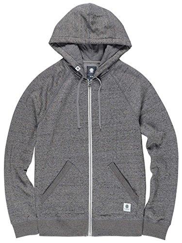 Element Meridian Zip Hoodie charcoal heathe