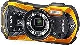 'Ricoh wg-50Kit Kamera Compact 16MP 1/2.3CCD (DISPOSITIF à Charge-Transfer) 4608x 3456pixels schwarz–Digitalkameras (16MP, 4608x 3456Pixel, CCD (DISPOSITIF à Charge-Transfer), 5x, Full HD, schwarz, orange)