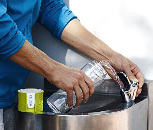 BRITA, Bouteille Filtrante Nomade, Fill&Go, 0.6L, 1 Disque Filtrant inclus - Vert