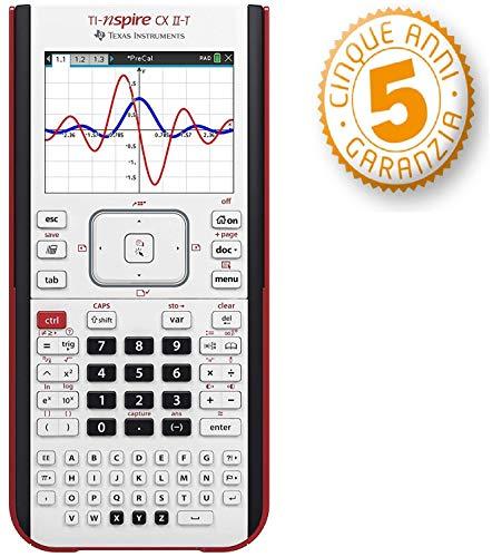 Texas Instruments Ti-Nspire CX II-T Calcolatrice grafica digitale a colori con 5 anni garanzia