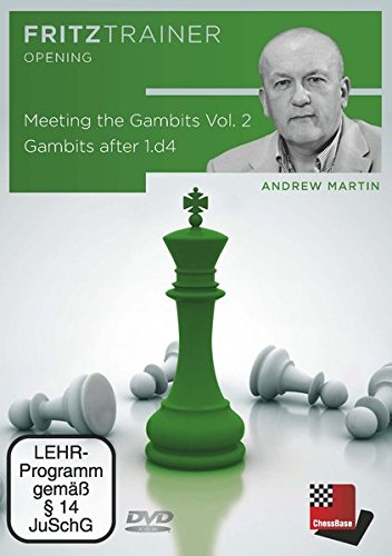 Andrew Martin: Meeting the Gambits Vol. 2 – Gambits after 1.d4