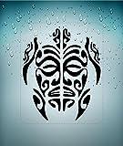 Autocollant Sticker macbook Laptop Voiture Moto Tortue Tribal Deco Vinyle...