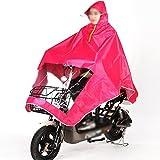 Q-HAI Elektromobilität Roller Motorrad Regen Cape Coat Herren Frauen Regen Poncho Mac (Farbe : #6)