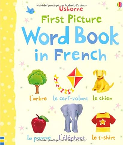 First Picture Word Book in French (Usborne First Picture