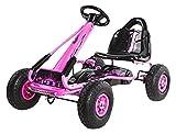 Ricco pb9588a Pink Kinder Pedal Go Ride On Gummiräder Sport Racing Spielzeug TRIKE Auto