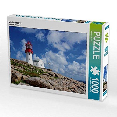 Preisvergleich Produktbild Lindesnes Fyr 1000 Teile Puzzle quer: Das Südkapp in Norwegen (CALVENDO Orte)