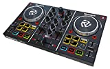 Numark Party Mix - Controller DJ Plug-And-Play a Due Canali per Serato DJ Intro, con Interfaccia Audio Integrata, Segnale Cuffie, Controlli Pad Performance, Crossfader, Jog Wheel e Luci da Discoteca