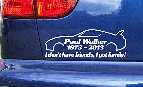 paul-walker-supra-friends-family-rip-memorial-tribute-vinyl-die-cut-sticker-decal-ref4-white-200mm-x
