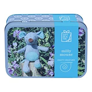 Crafty Creatures - Milly Mouse - Gift in a Tin