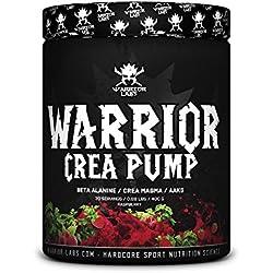 CREA PUMP por Warrior Labs, 30 Porciones (Frambuesa)