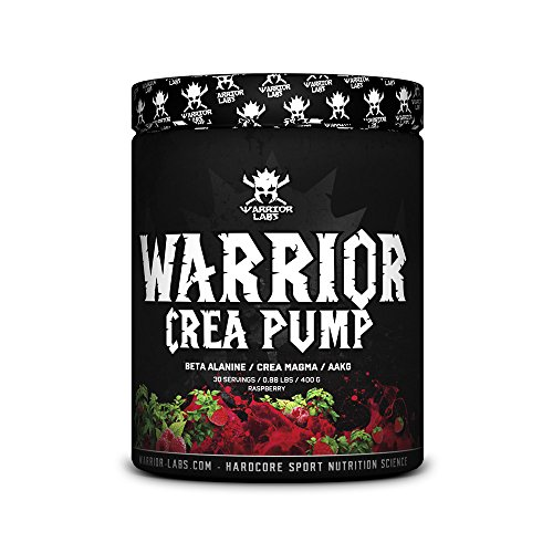 CREA PUMP von Warrior Labs, 30 Portionen (Himbeere)