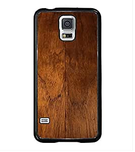Fuson Premium 2D Back Case Cover Designed wood With Purple Background Degined For Samsung Galaxy S5 G900i::Samsung Galaxy S5 i9600::Samsung Galaxy S5 G900F