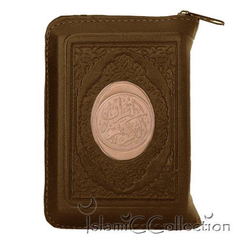 Taschen Reise Koran Qur'an Quran Etui BRAUN Arabisch Muslim Islam 31-0035-05