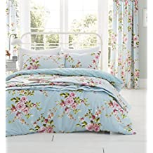 Catherine Lansfield Canterbury Easy Care Double Duvet Set Multi