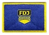 Flaggen Aufnäher Patch FDJ Fahne Flagge