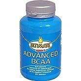 Advanced BCAA - Formula Avanzata  - Aminoacidi Ramificati Nel Rapporto 4:1:1 - Leucina, Isoleucina, Valina, Glutammina Peptide, Vitamina B6  - Maggiore Assimilazione - 100 Compresse - Ultimate Italia - 51PkiQnSuwL. SS166