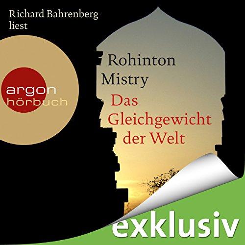 Buchseite und Rezensionen zu 'Das Gleichgewicht der Welt' von Rohinton Mistry