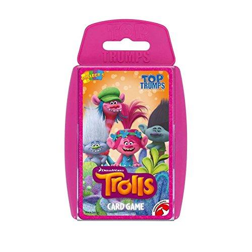 Preisvergleich Produktbild TOP TRUMPS - TROLLS! Vervollkommnen Sie für Innen, reisend, kampierend und Feiertage