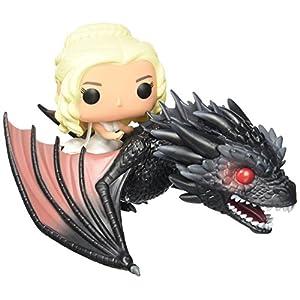 Funko - POP! Vinilo Colección Juego de tronos - Figura Drogon & Daenerys (7235) 9