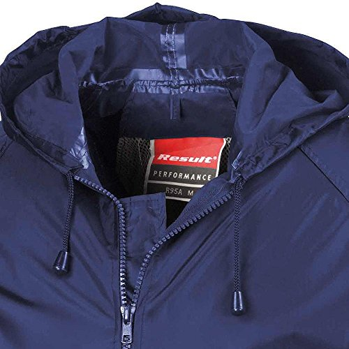 Result Herren Regenmantel Heavyweight Waterproof Jacket & Trouser Set Navy