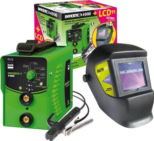 GYS Elektroden-Schweißgerät 160 A + LCD-Schweißhelm