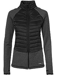 O 'Neill Baffle Mix Forro Polar streetwear Jacket, mujer, Baffle mix fleece, Black Out, large