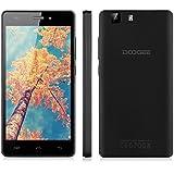 "Doogee X5 Pro - Smartphone libre 4G Lte (pantalla 5"", 16GB, Cámara 8 Mp, Android 5.1, Quad-Core, 64 bit, 2GB RAM, OTG), Negro"