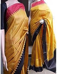 Shreebalaji Collection Women's Silk Saree With Blouse Piece (Sb12040, Multicolor, Free Size)