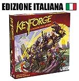 Asmodee- Keyforge, Il Richiamo degli Arconti-Starter Set Gioco da Tavolo, Colore Rosso, 10600