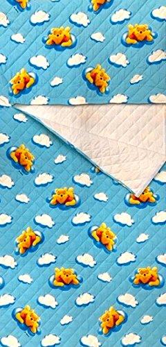 Sacco nanna asilo disney winnie the pooh azzurro - 2-6 anni