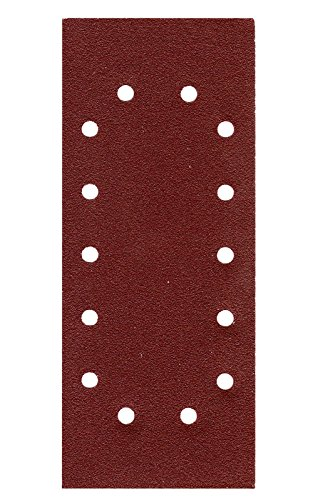 50er Pack Schleifpapier Schleifblatt 115 x 280mm 14 Loch Körn.= 80 Schwingschleifer