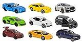 Majorette 212053241 - Square Pack 9 Cars, Set mit neun Autos, 7,5 cm