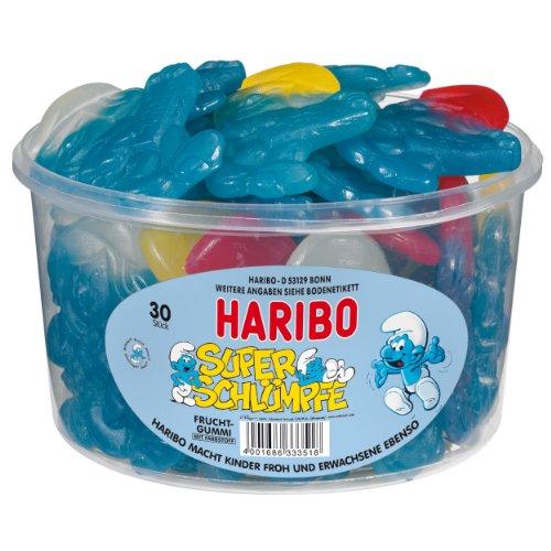 Haribo Super-Schlümpfe Dose