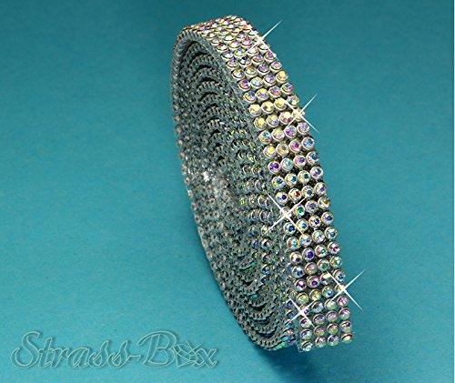 Selbstklebend Pure Stones SS6 Chaton Strasssteine Crystal Kristalle aufkleben 12cm x 20cm