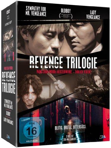 Bild von Revenge Trilogie( Sympathy for Mr. Vengeance / Oldboy / Lady Vengeance) [3 DVDs]