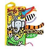 Kfnire Animal Tails Cloth Book Baby Development Handmade Educational Toy (Jungly Tails)