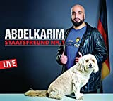 Abdelkarim - Audio CD 'Staatsfreund Nr. 1: WortArt'  (13.08.2018)