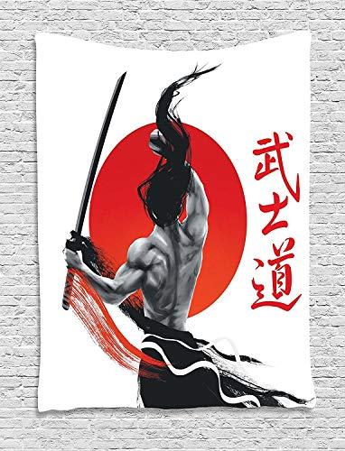 ZGQQQ Colgante De Pared Tapiz Japonés Decoración