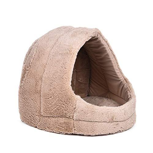 PAWZ Road Cama para Perros, caseta para Gatos, Cueva Plegable, Cachorros Iglu con cojín extraíble...