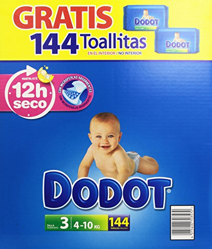 dodot-pack-panales-bebes-toallitas-talla-3-4-10-kg-144-unidades