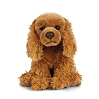 Living Nature Soft Toy, Dog and Puppy Plush Pet Spaniels