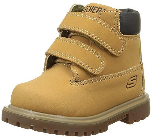 Skechers Mecca, Desert Boots Garçons, Jaune (Wtn Miel), 22 EU