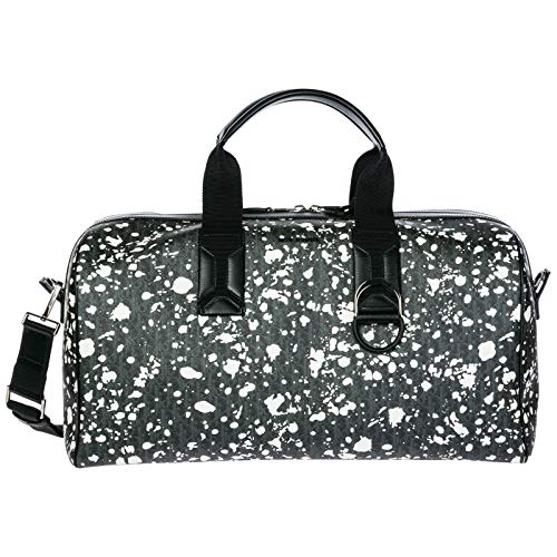 Dior Reisetasche Leder Tasche Weekender Umhängetasche Schwarz