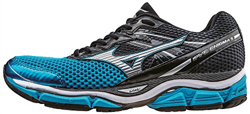 Mizuno Wave Enigma 5 - Zapatillas de running hombre , color Azul (Atomic Blue/Silver/Ombre Blue), talla 40 EU (6.5 UK)