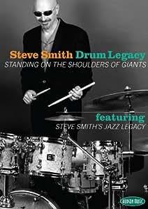 Steve Smith - Drum Legacy: Lehr-DVD für Schlagzeug (+ Audio-CD)