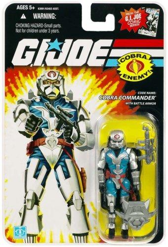 G.I. Joe - Figura de acción del 25 aniversario – Comandante de la obra con armador de batalla
