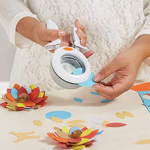 Fiskars Alicates perforadoras, Hexágono, Ø 5 cm, Para diestros y zurdos, Acero de calidad/Plástico, Blanco/Naranja, XL, 1015763